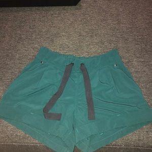 Lululemon green shorts